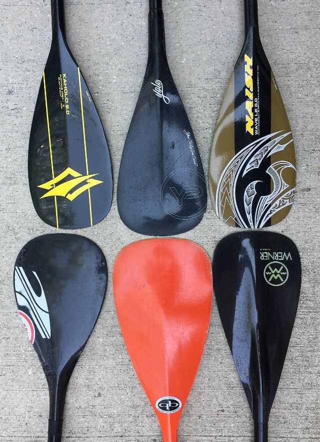 SUP wave paddles