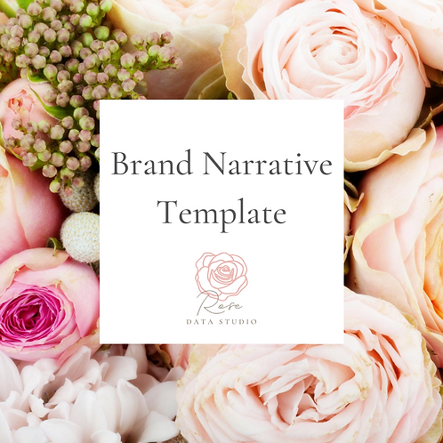Brand Narrative Template