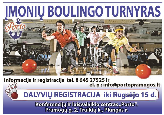 Įmonių boulingo turnyras