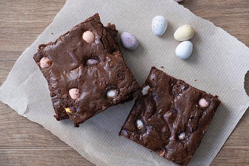 Mini Egg Double Chocolate Brownies