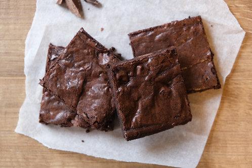 Vegan Rich Dark Chocolate Brownies