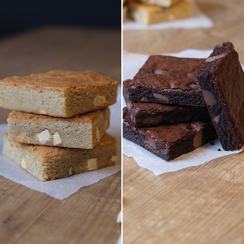 Half and Half (Brownies & Blondies)