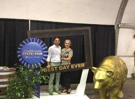 Olivaia's OLA gets Gold at the California State Fair first year out!