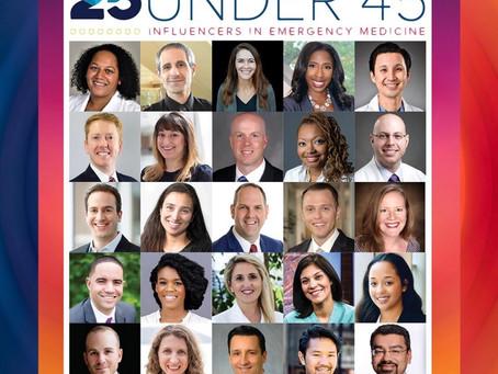 25 Under 45 Award winner