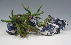 bleu-vegetal-jardinieres graine ensemble