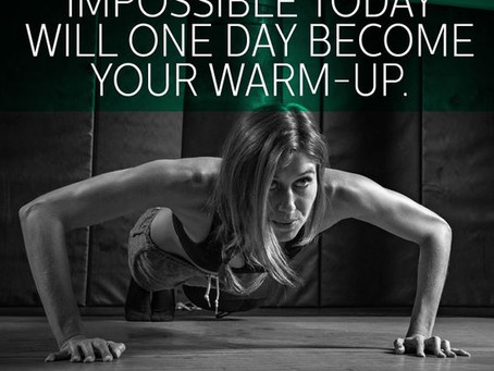 Create Your Own . . . .  Workout!