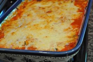 Dinner Recipe - Spaghetti Squash Casserole