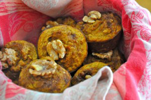 Sweet Recipe - Low Carb Pumpkin Muffins