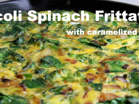 ROW (recipe of the week): Broccoli Spinach Frittata