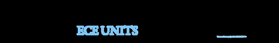 ECE Units Online Programs
