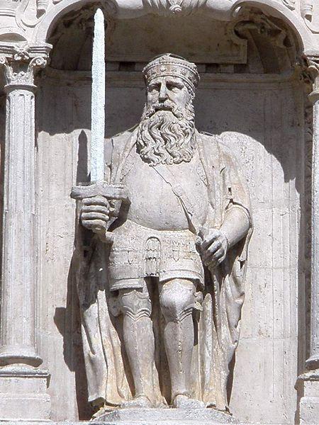 Rodrigo Diaz Vivar Arco de Santa Maria .