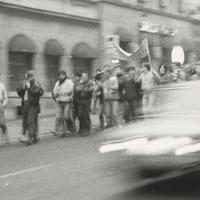 Občané Teplic v listopadu 1989