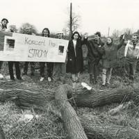 Občanský protest v Teplicích