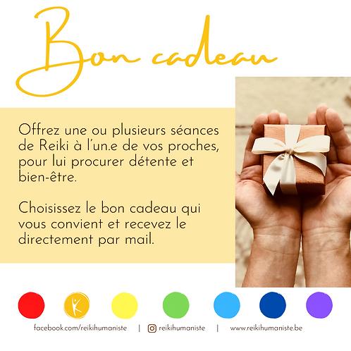 Bon cadeau - Séance unique