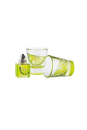 Tequila Lime Shot & Shaker Set