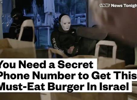 Tel Aviv`s Secret Hamburger-Vice