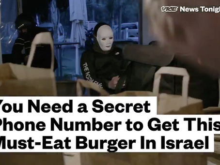 Tel Aviv`s Secret Hamburger-Vice