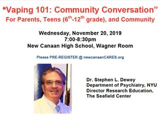 Vaping 101: Community Conversation