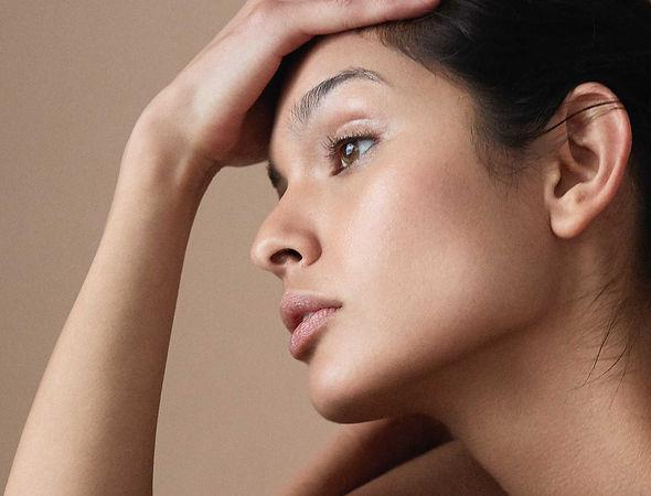Brilliance face serum with organic argan