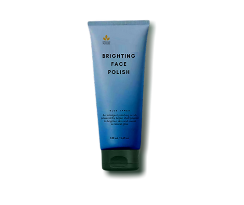 Organic facial mask with argan oil in Si