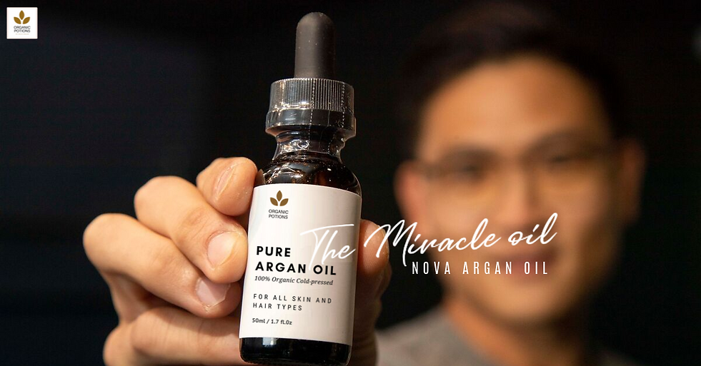Pure organic argan oil for hair by Organ