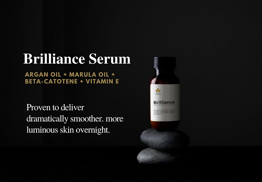 Brilliance face serum with argan oil