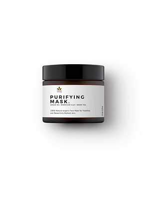 purifying face mask with argan oil