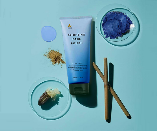 blue mask with argan oil Singapore