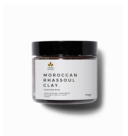 moroccan rhassoul clay 100gr by organic