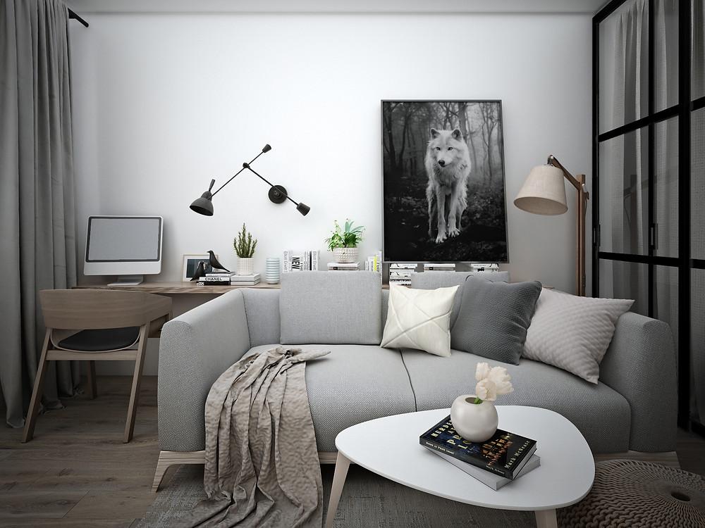 Скандинавский стиль в дизайне интерьера