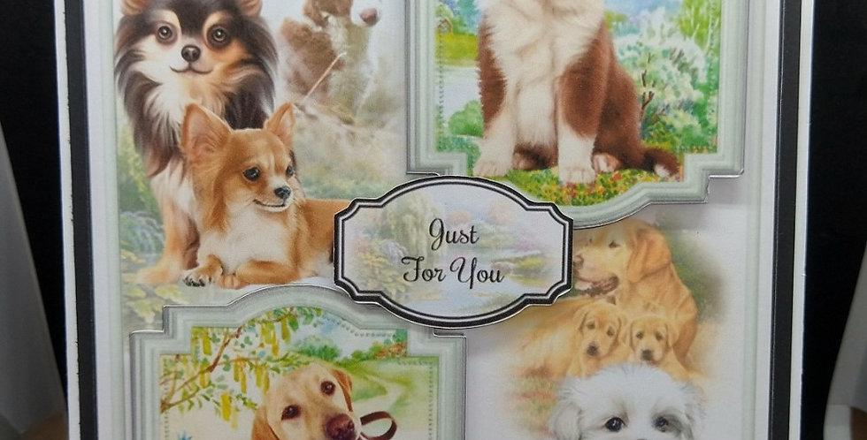 'Faithful Friends' A5 Birthday Card Style3