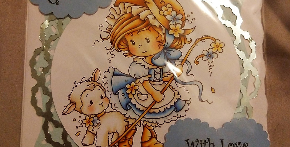 'Bo Peep' Granddaughter Birthday Card