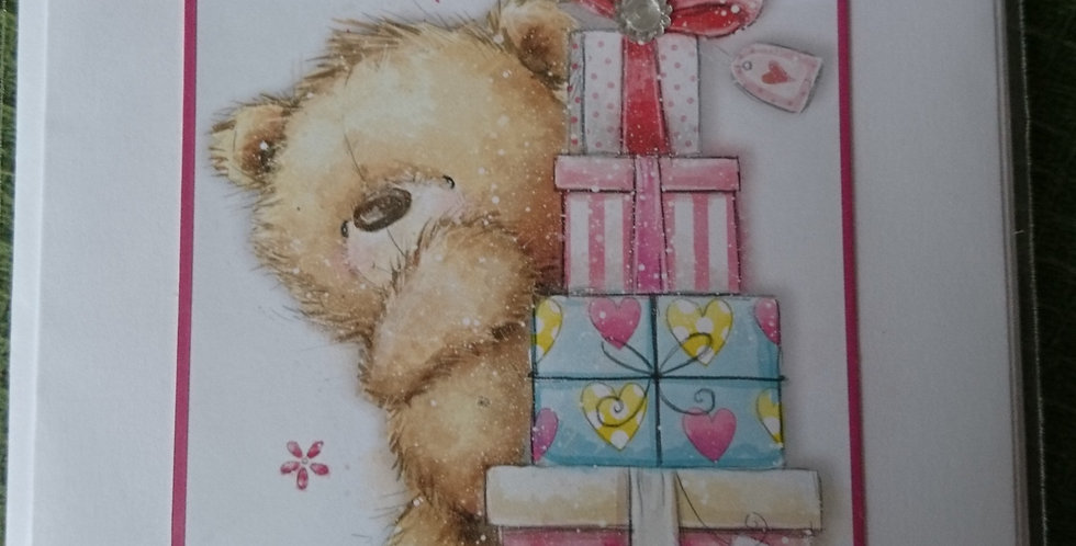 Bear with Presents 1