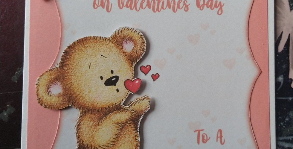 Valentines Bear 5x7 Wife