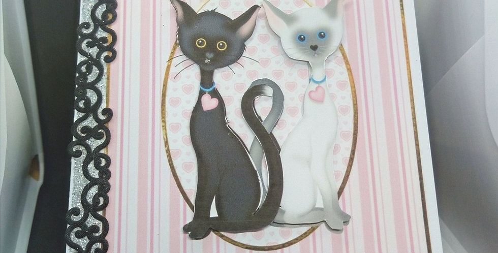 Purrfect Couple A5 Anniversary