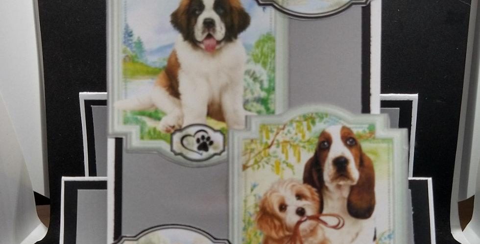 'Faithful Friends' Stepper Card 6x6