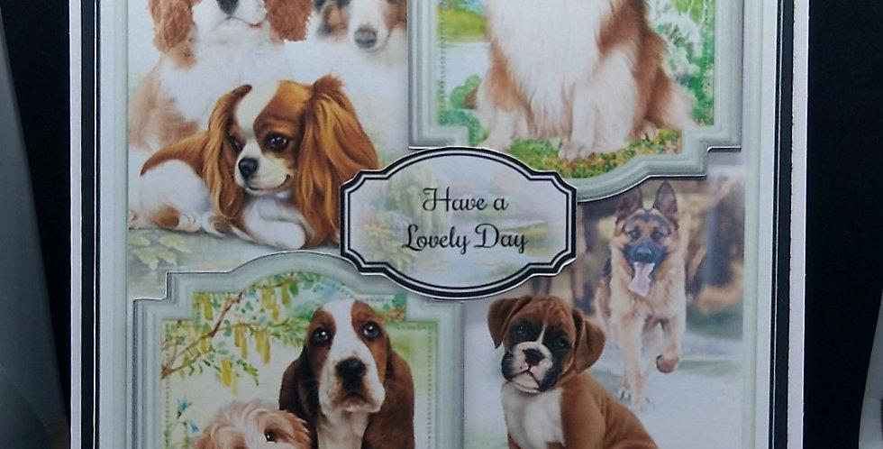 'Faithful Friends' A5 Birthday Card Style 4