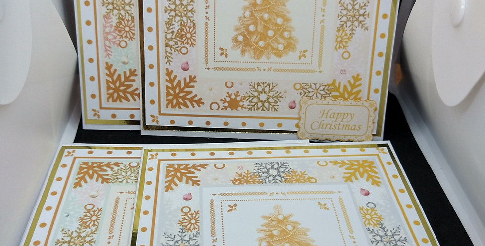 6x6 Trees Christmas Card Multipack