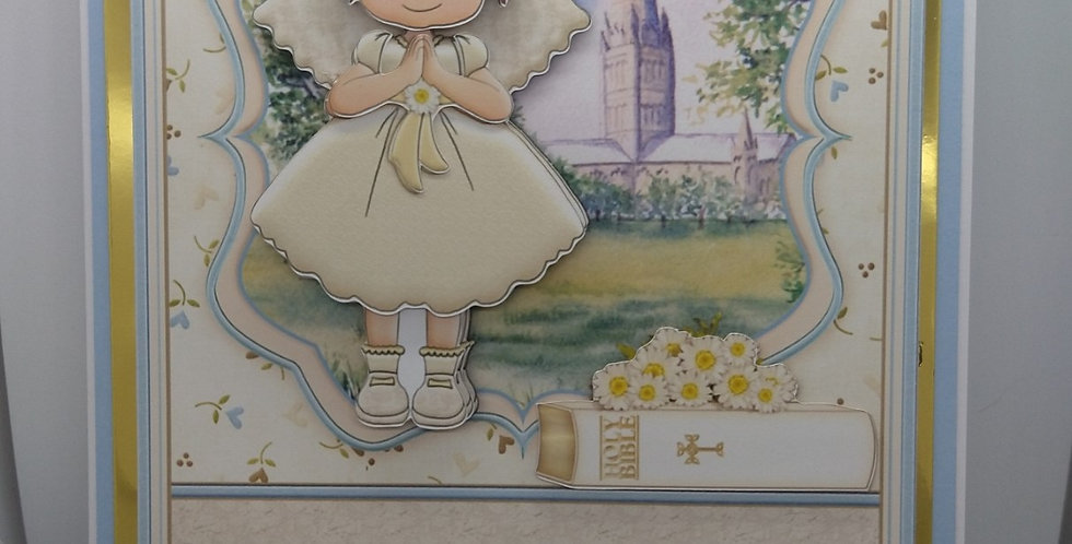 First Holy Communion A5 Girl