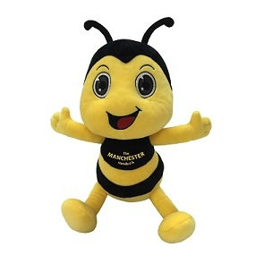 Mini Bertie Bee Plush Figure