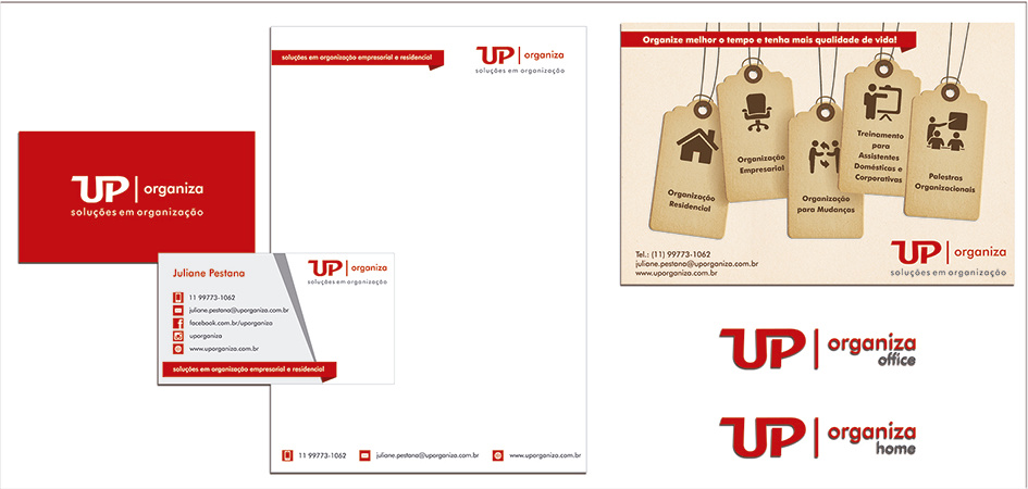 Identidade Visual - Up Organiza