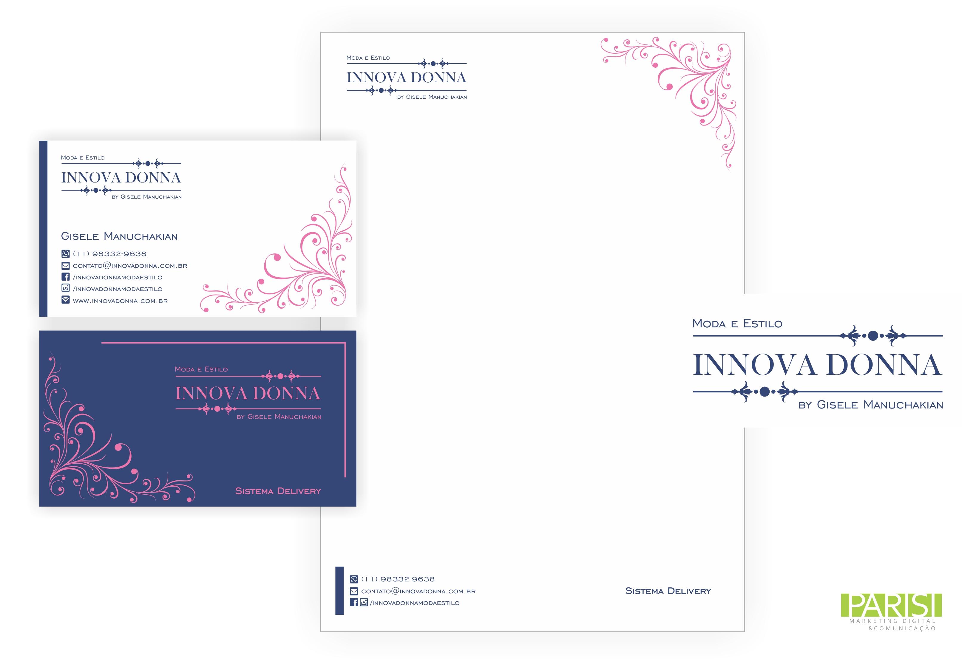Identidade Visual - Innova Donna