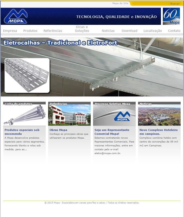 Site Institucional - Mopa