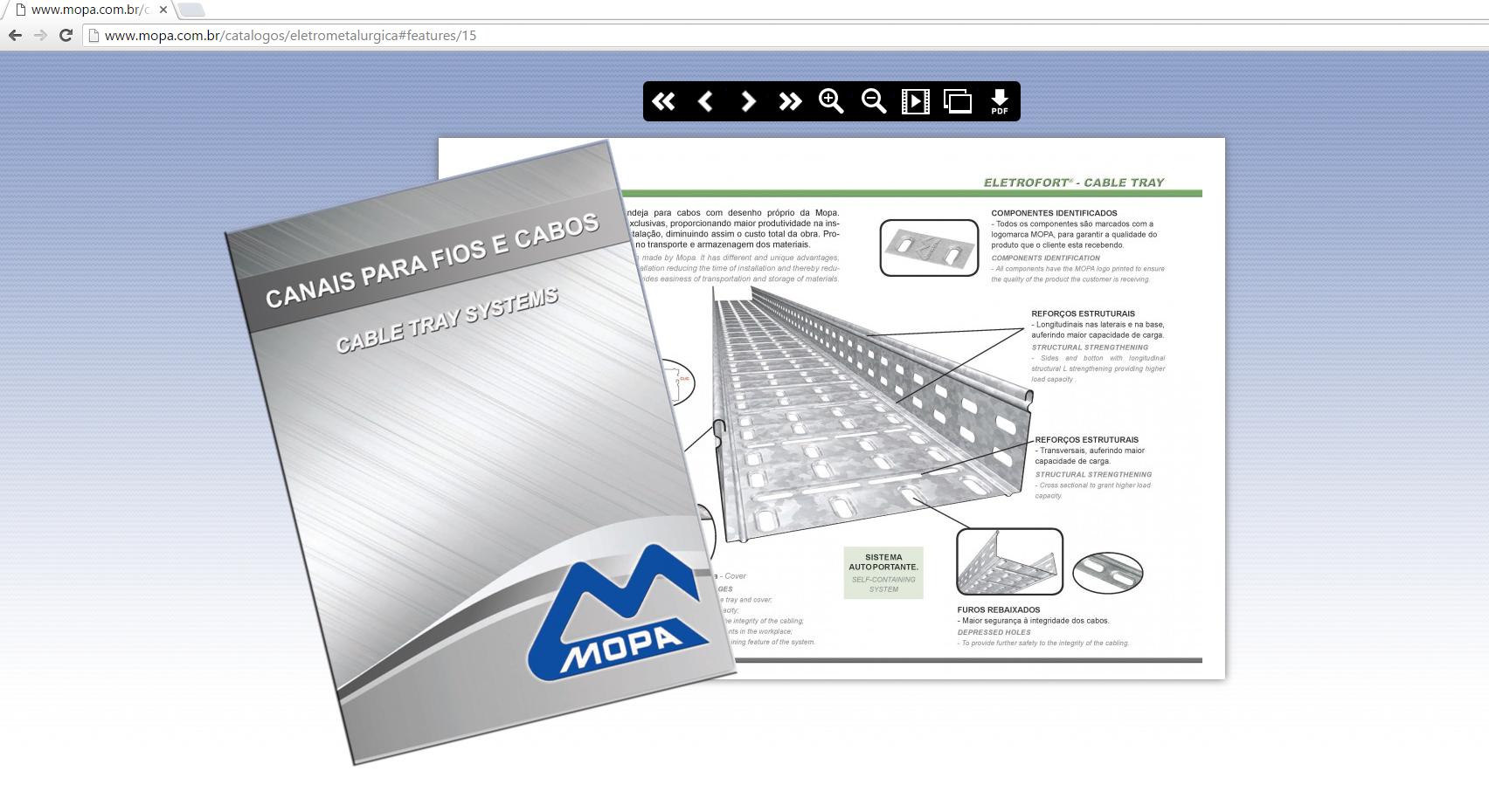 Catálogo Eletrônico - Mopa