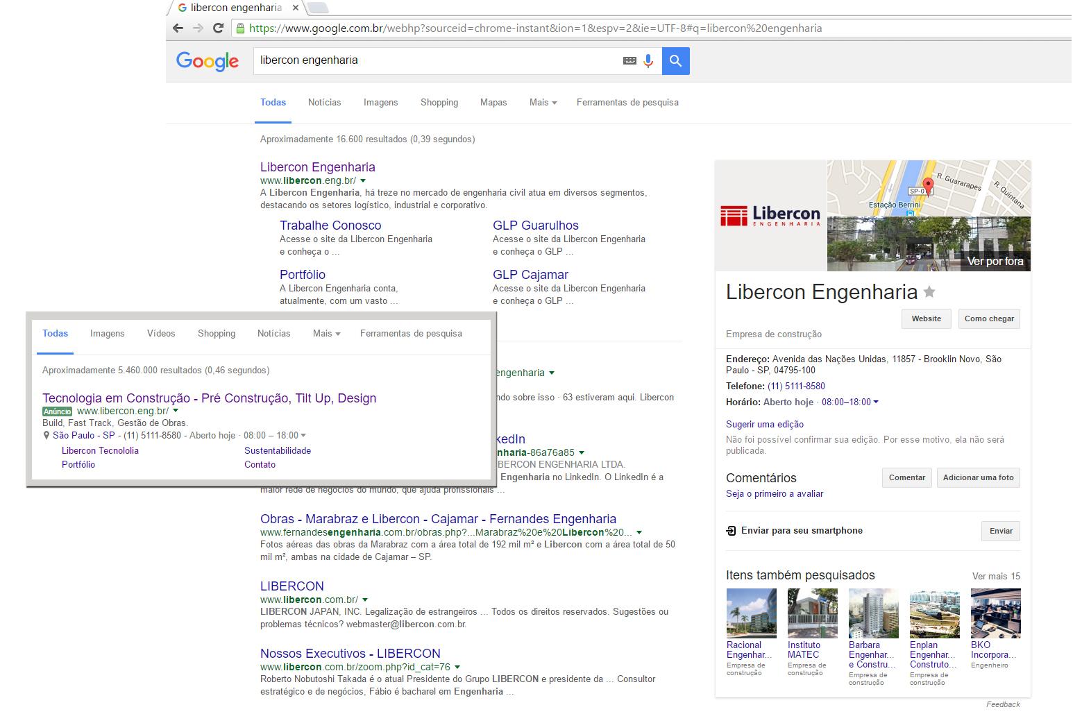 Google Adwords e Google+ Libercon
