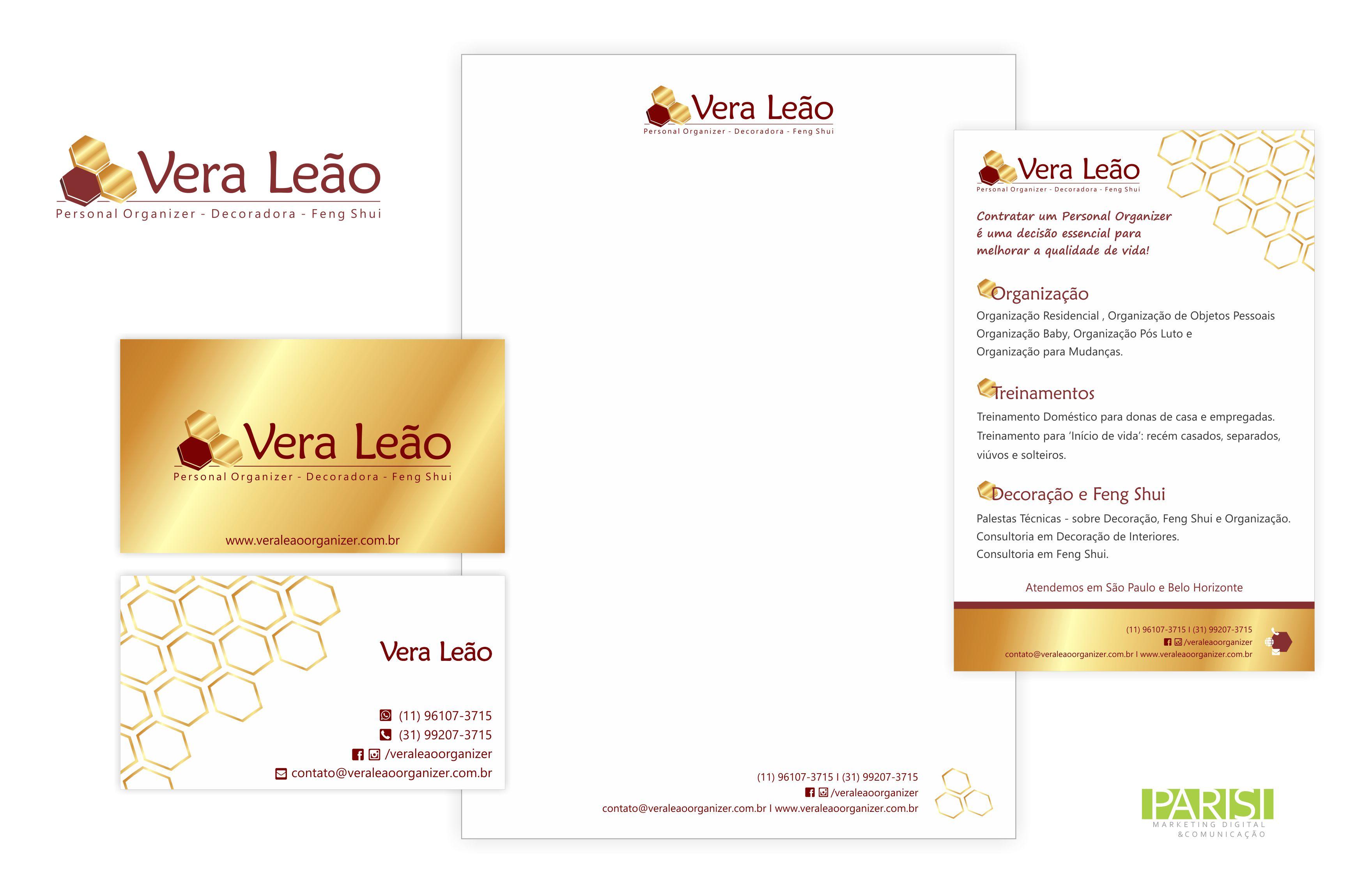 Identidade Visual - Vera Leão