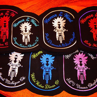 Back Patch Image Library