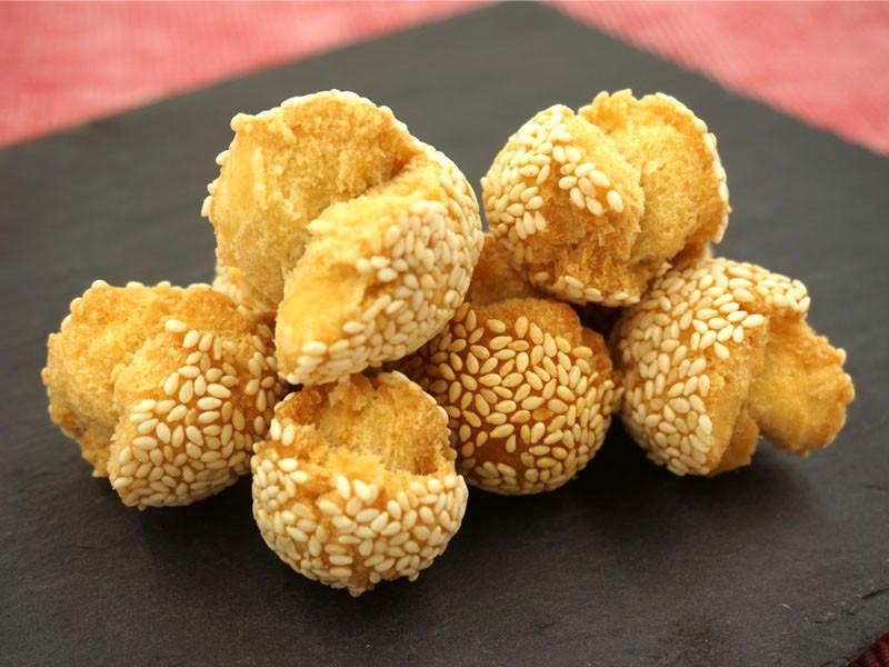 笑口棗 +Sesame Balls