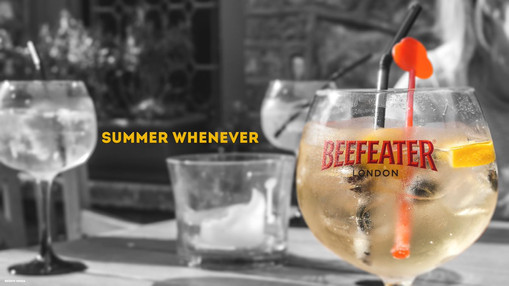 Promo shoot for Beefeater Gin