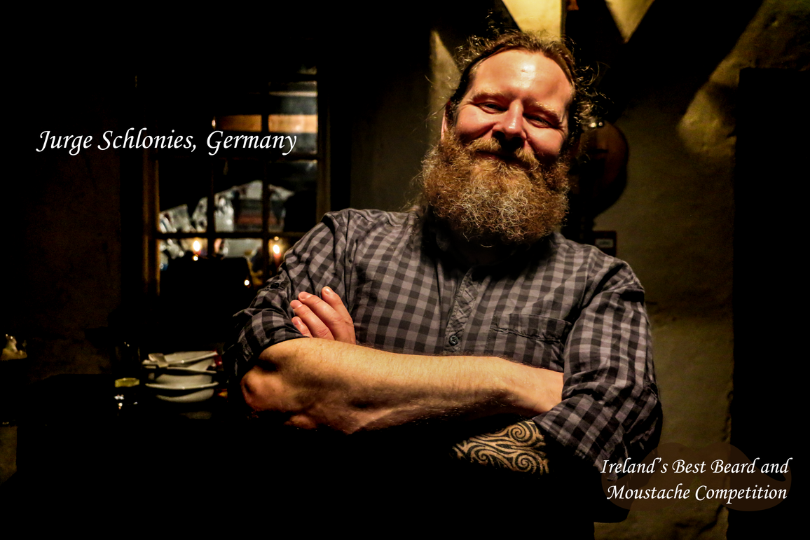 Jurge Schlonies - Ireland's Best Beard and Moustache Competition